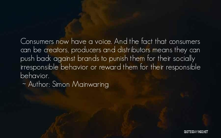 Simon Mainwaring Quotes 1953276
