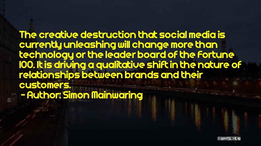 Simon Mainwaring Quotes 1958037