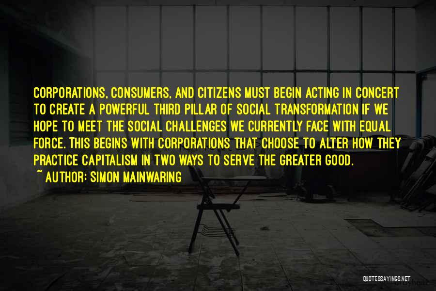 Simon Mainwaring Quotes 2192849