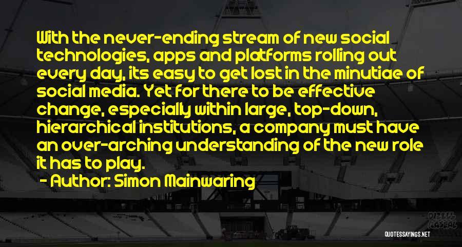Simon Mainwaring Quotes 2207471