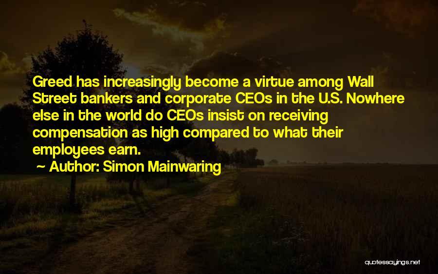 Simon Mainwaring Quotes 2222273