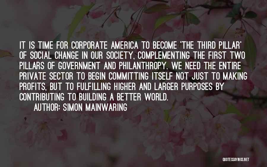 Simon Mainwaring Quotes 2246256