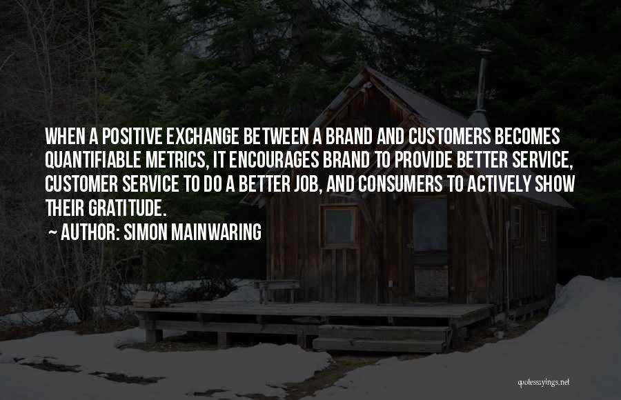 Simon Mainwaring Quotes 277760