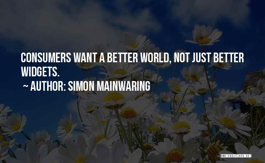 Simon Mainwaring Quotes 283010