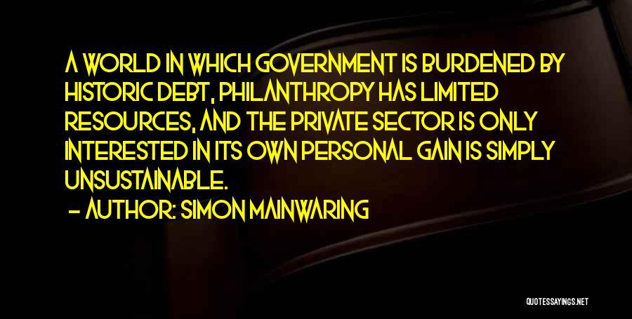 Simon Mainwaring Quotes 411055