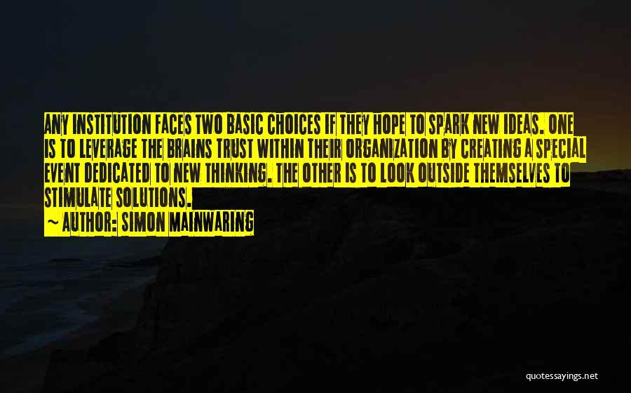 Simon Mainwaring Quotes 461365
