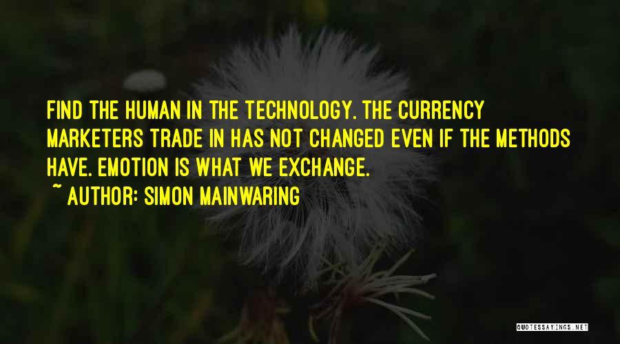 Simon Mainwaring Quotes 579905