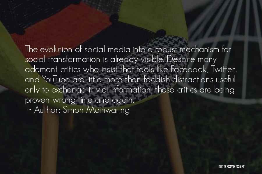 Simon Mainwaring Quotes 673772
