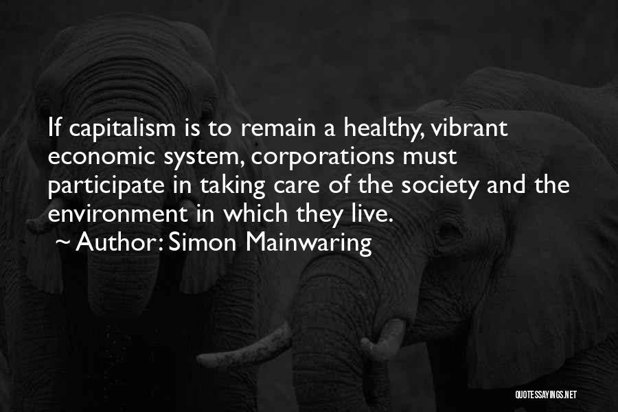 Simon Mainwaring Quotes 760268