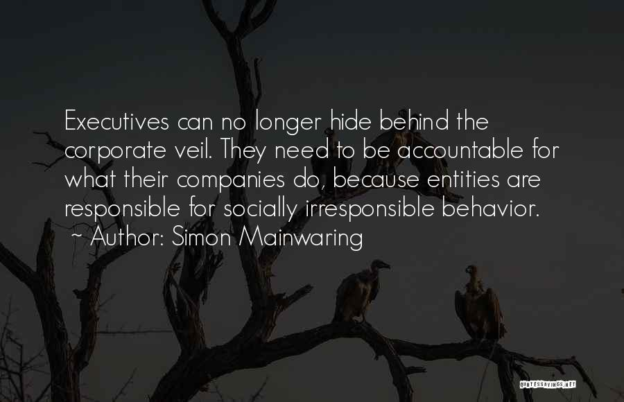 Simon Mainwaring Quotes 796040