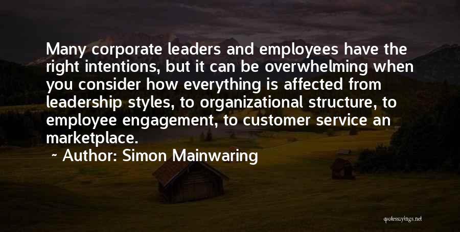 Simon Mainwaring Quotes 863282