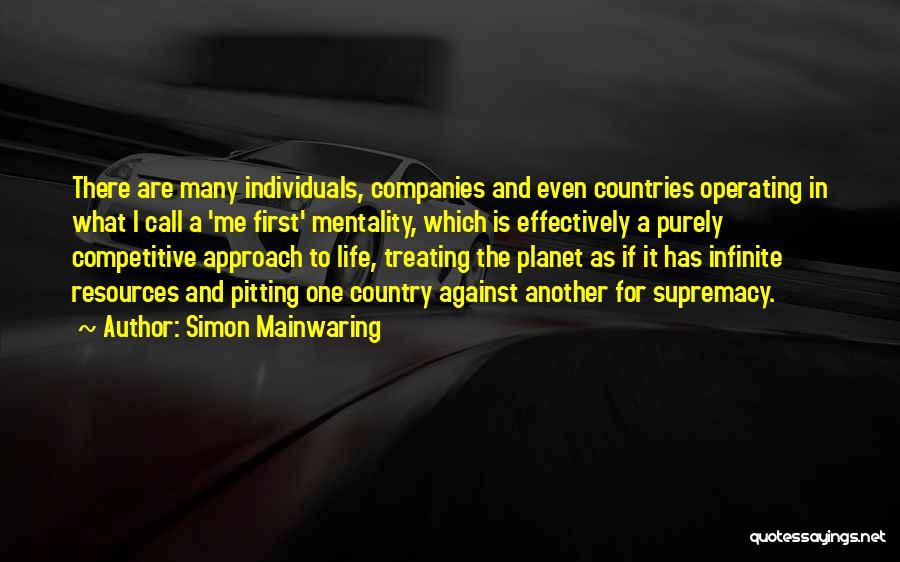 Simon Mainwaring Quotes 934201
