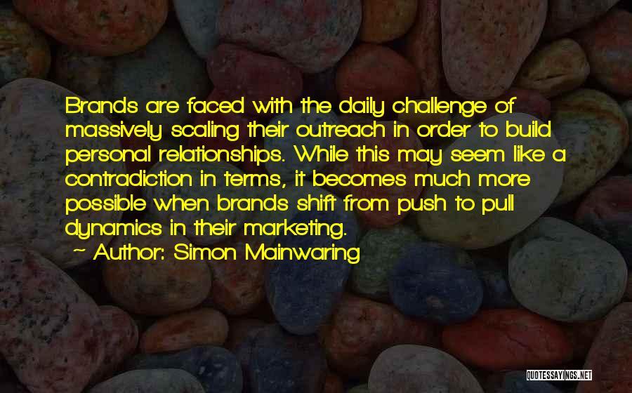 Simon Mainwaring Quotes 974633