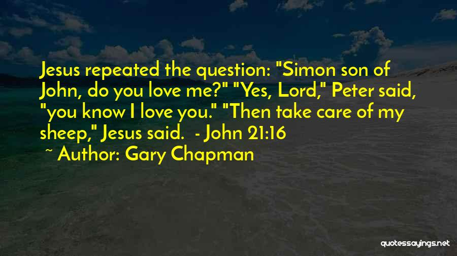 Simon Peter Quotes By Gary Chapman
