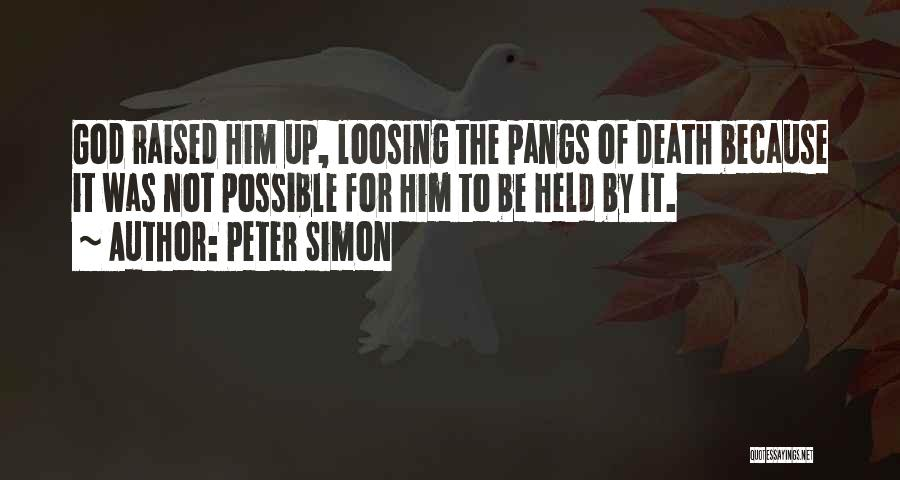Simon Peter Quotes By Peter Simon