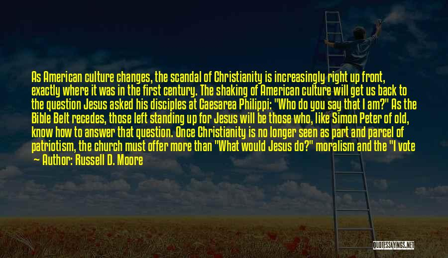 Simon Peter Quotes By Russell D. Moore