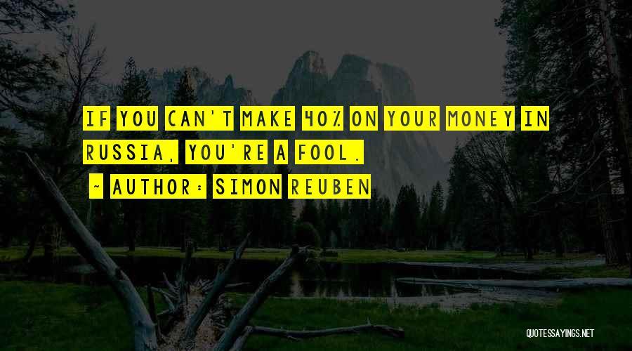 Simon Reuben Quotes 1132662