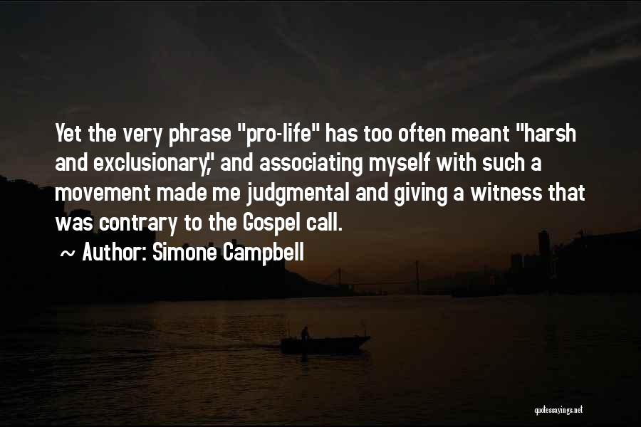 Simone Campbell Quotes 1671451