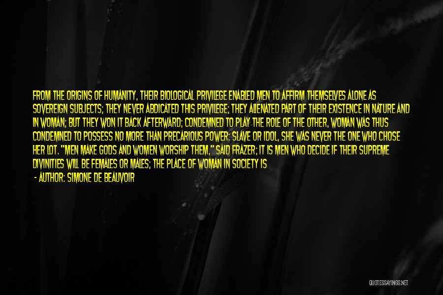 Simone De Beauvoir Quotes 1126536