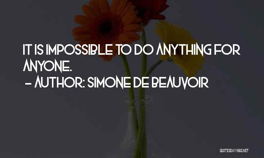 Simone De Beauvoir Quotes 1175257