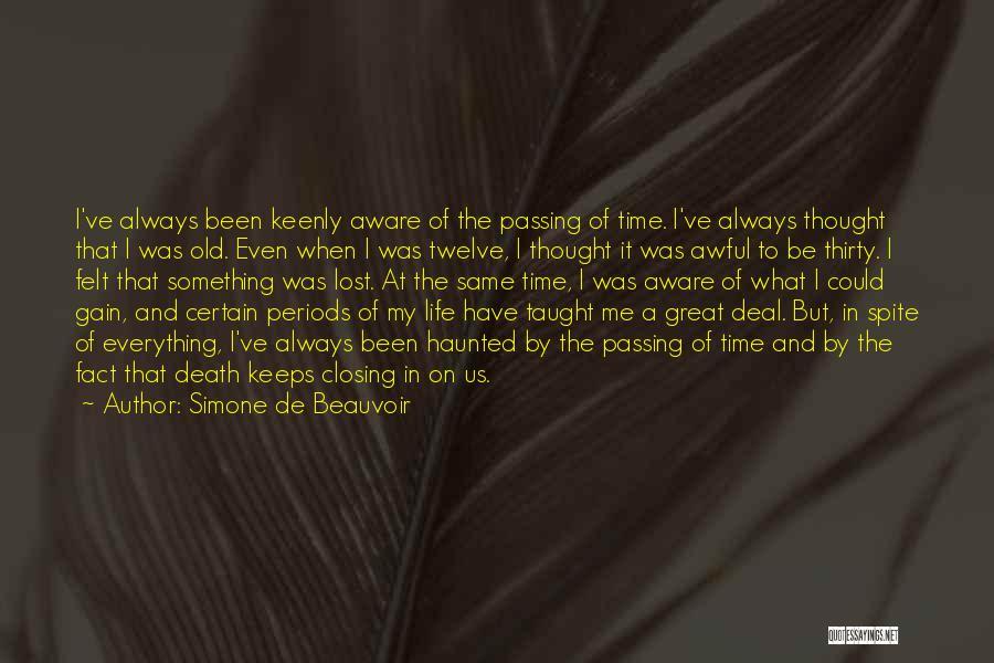 Simone De Beauvoir Quotes 1219550