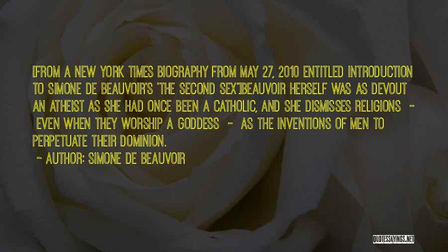 Simone De Beauvoir Quotes 2029306