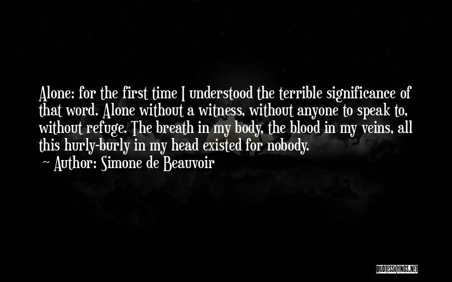 Simone De Beauvoir Quotes 2043977