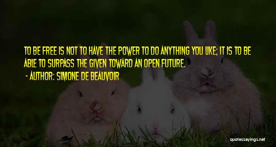 Simone De Beauvoir Quotes 553962
