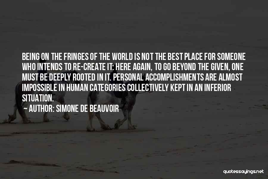 Simone De Beauvoir Quotes 679169