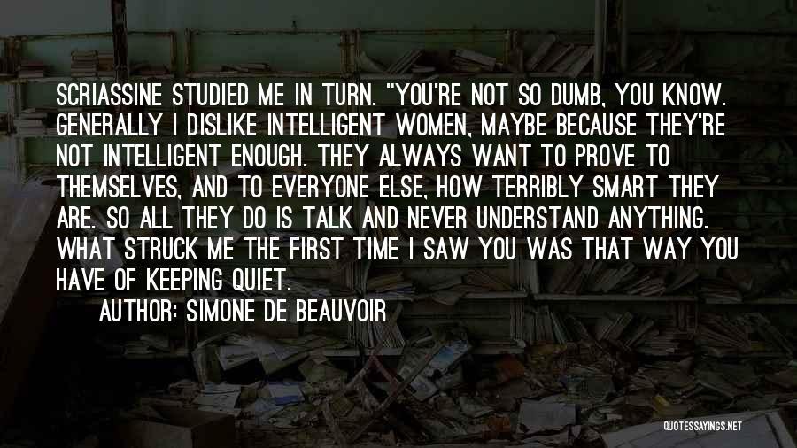 Simone De Beauvoir Quotes 799097