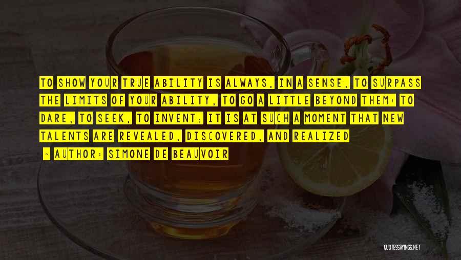 Simone De Beauvoir Quotes 841818