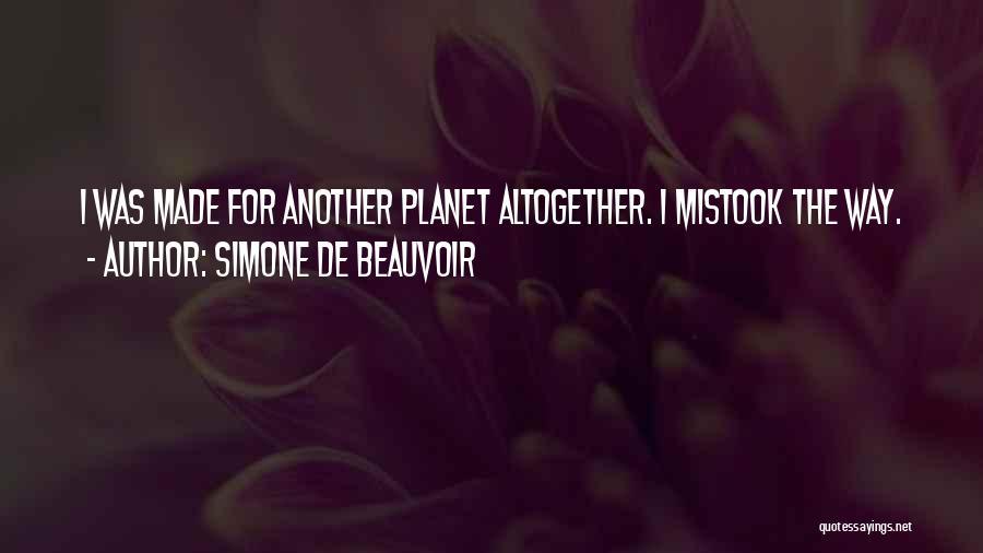 Simone De Beauvoir Quotes 851269