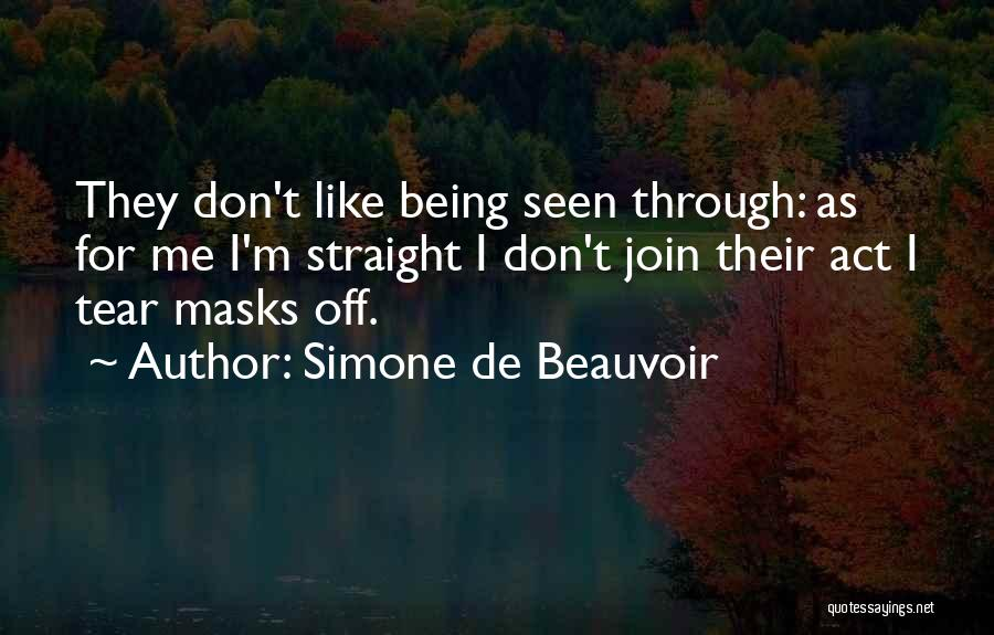 Simone De Beauvoir Quotes 941529