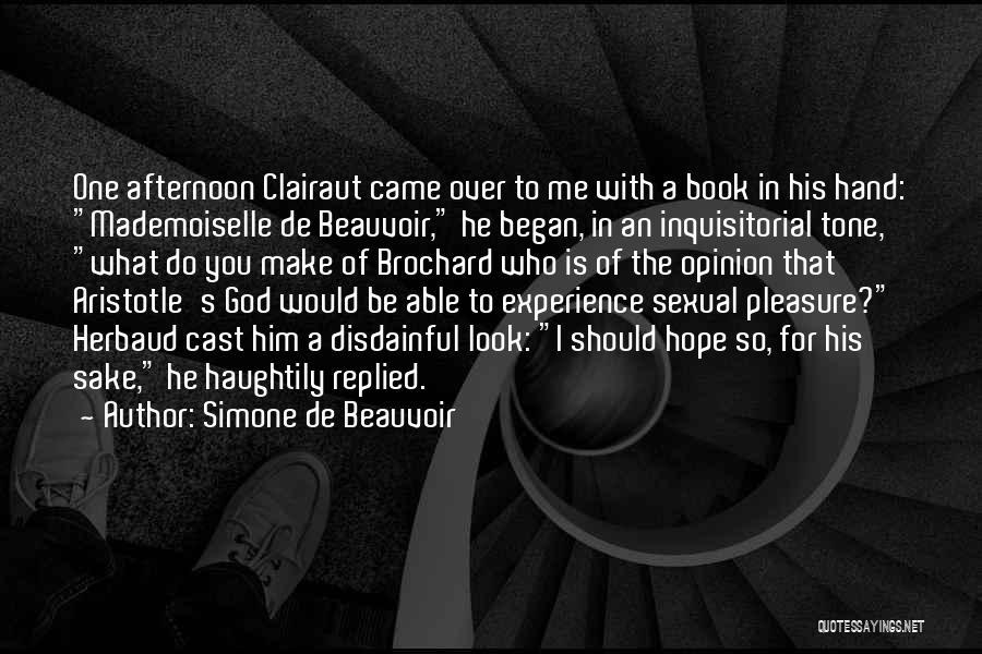 Simone De Beauvoir Quotes 969477
