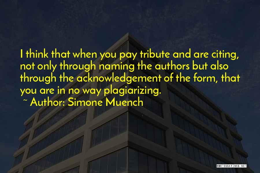 Simone Muench Quotes 1302321
