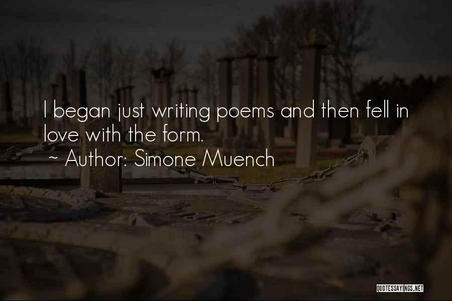 Simone Muench Quotes 302446