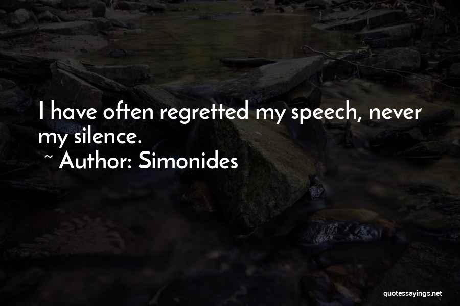 Simonides Quotes 1521143
