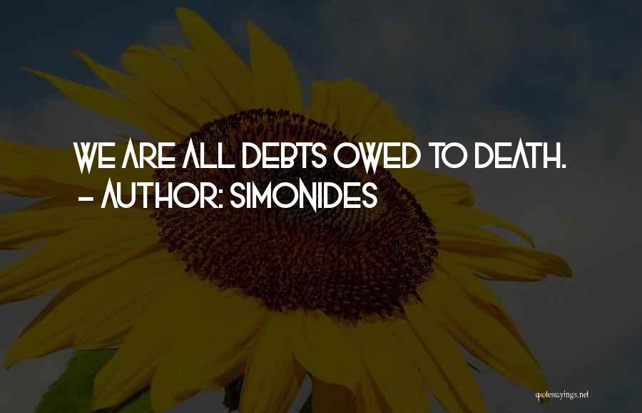 Simonides Quotes 669015