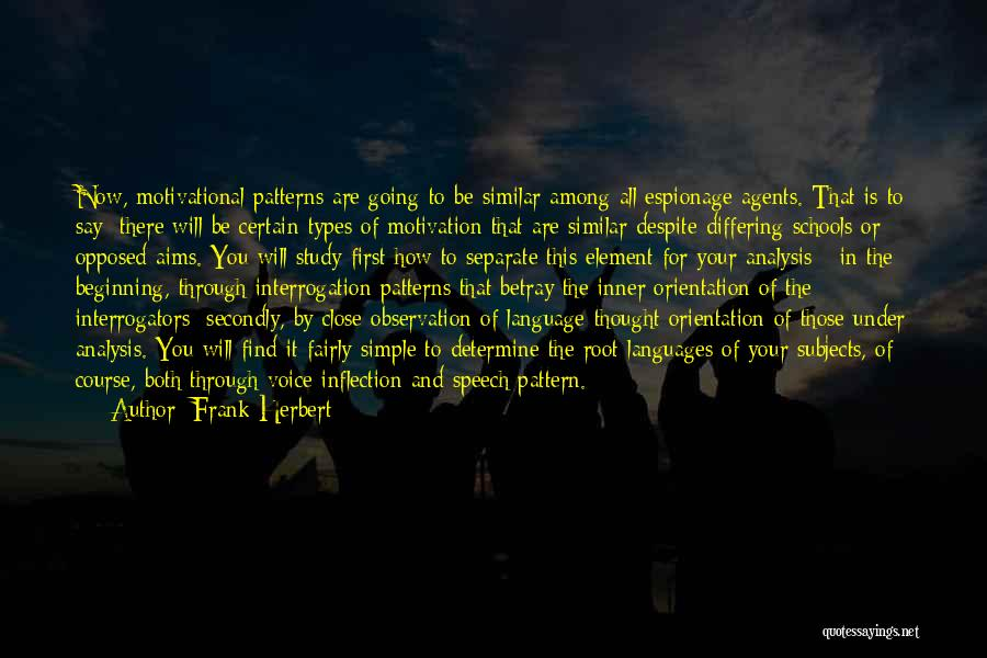Simple And Motivational Quotes By Frank Herbert