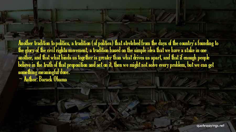 Simple But Meaningful Quotes By Barack Obama