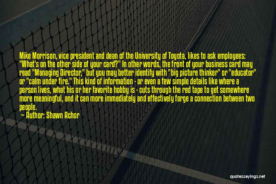 Simple But Meaningful Quotes By Shawn Achor