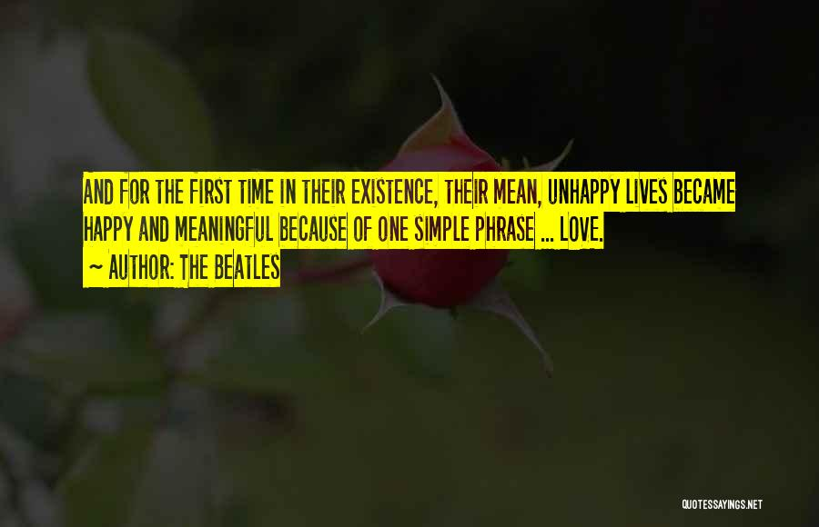 Simple But Meaningful Quotes By The Beatles