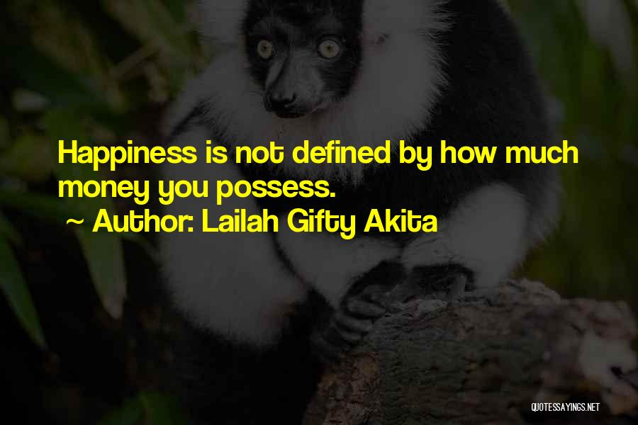 Simple Happy Life Quotes By Lailah Gifty Akita