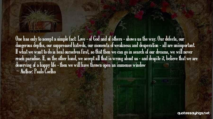Simple Happy Life Quotes By Paulo Coelho