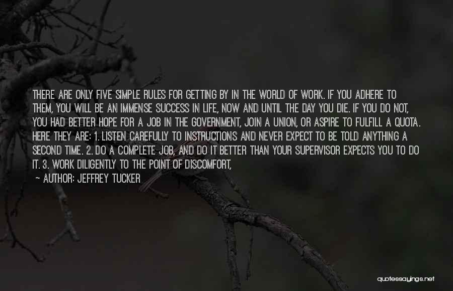 Simple Life But Happy Quotes By Jeffrey Tucker