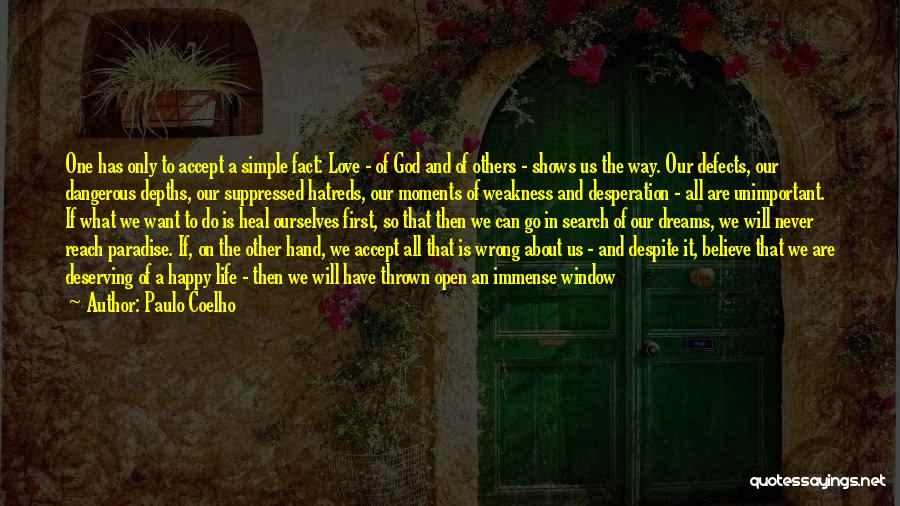 Simple Life But Happy Quotes By Paulo Coelho