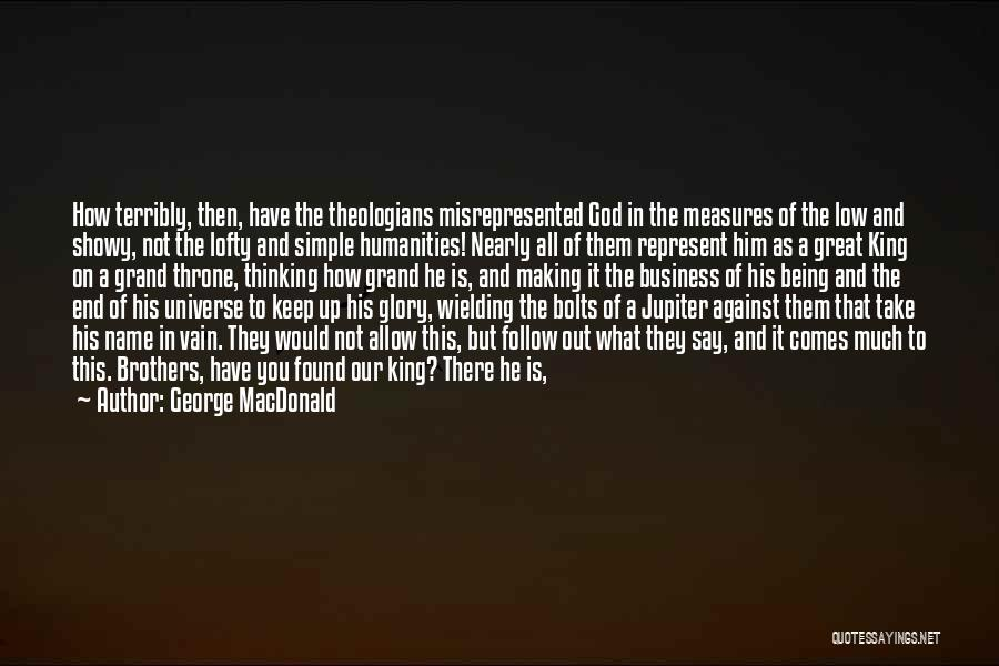Simple Thinking Of You Quotes By George MacDonald