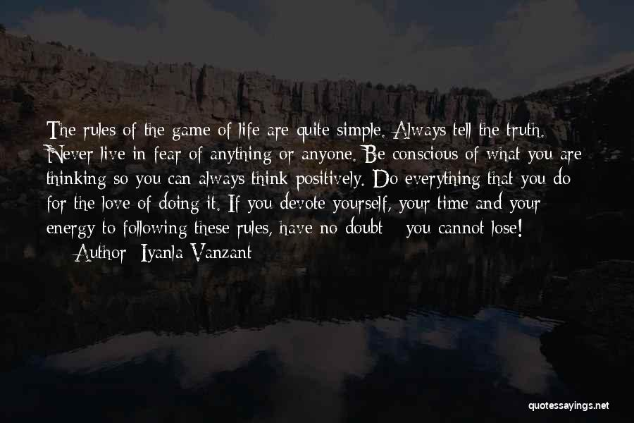 Simple Thinking Of You Quotes By Iyanla Vanzant