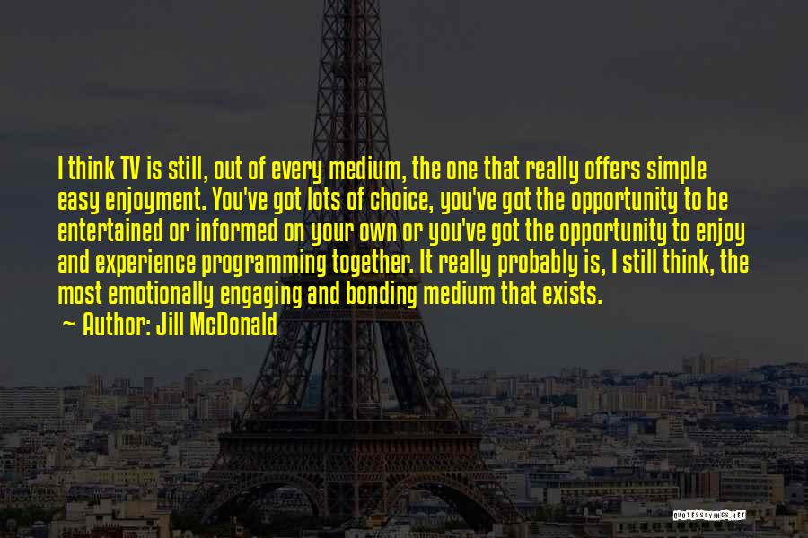 Simple Thinking Of You Quotes By Jill McDonald