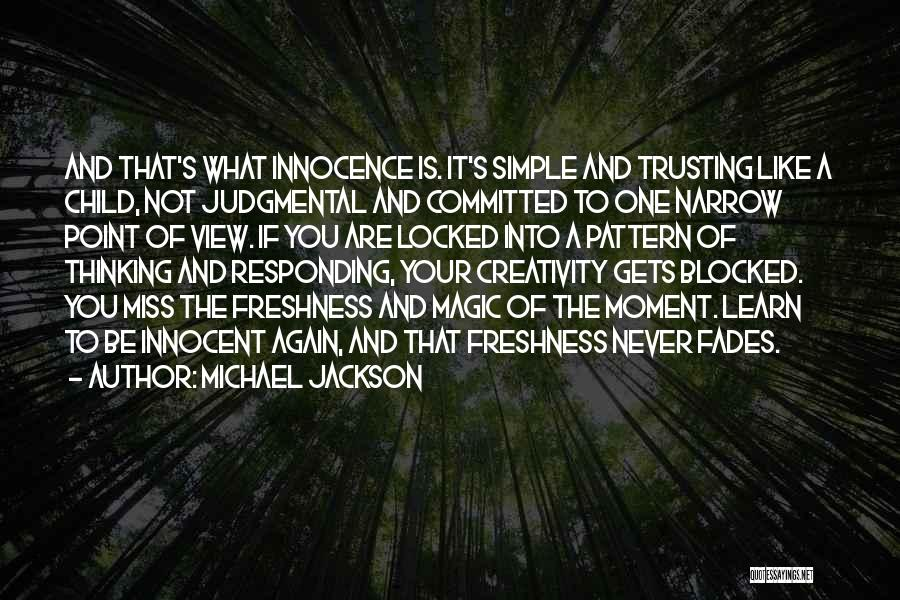 Simple Thinking Of You Quotes By Michael Jackson